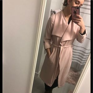 Soia & Kyo pink trench coat